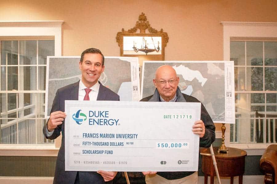 Duke Energy donates $50,000 to FMU ecology center project
