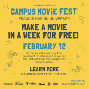Campus MovieFest (CMF) Promotions @ FH Breezeway