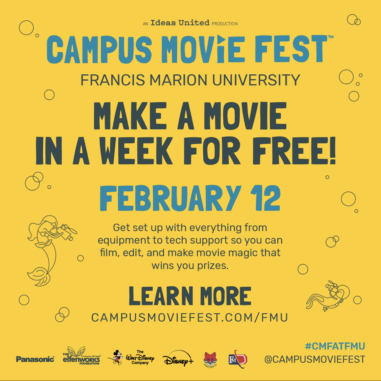 Campus MovieFest (CMF) Promotions