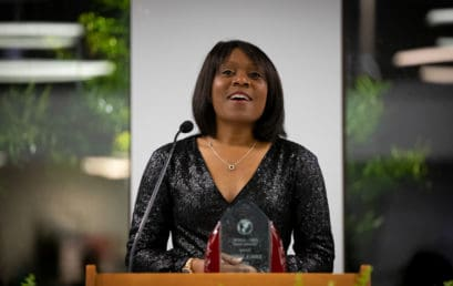 James receives FMU's AAFSC Diversity Award