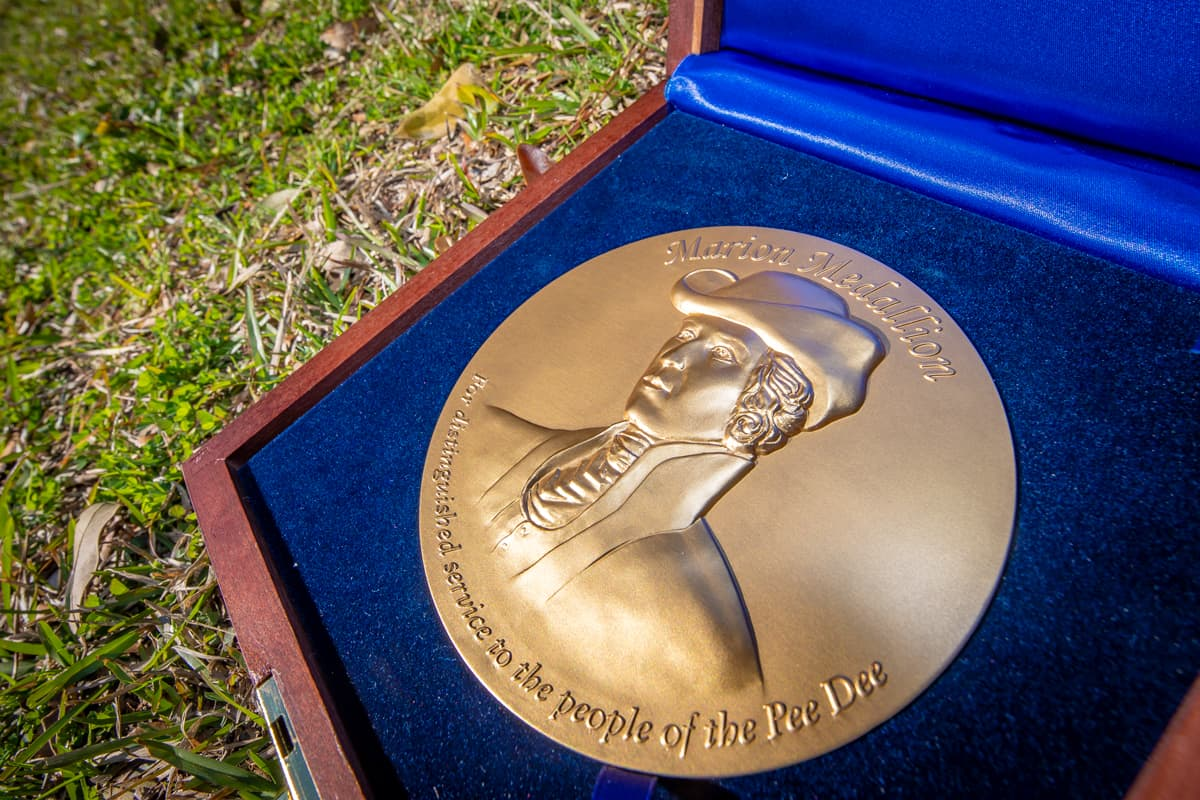 Marion Medallions go to revered politician, hard-working public servant