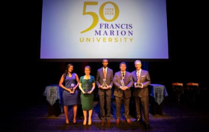 FMU honors five distinguished alumni at Awards Gala