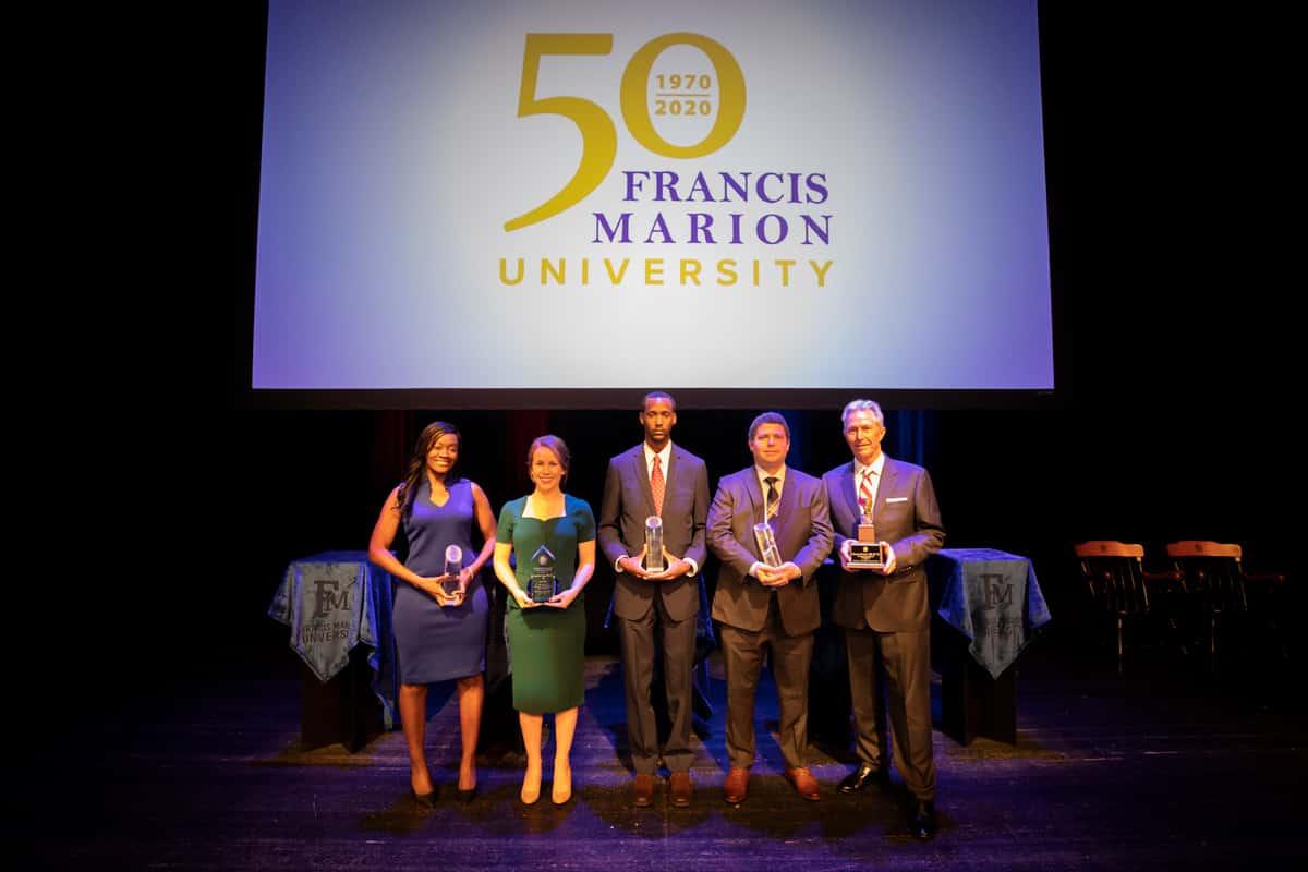 FMU honors five distinguished alumni at Awards Gala