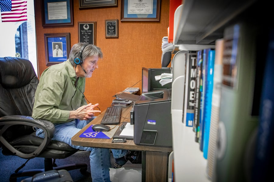 FMU faculty, staff, and student body make online instruction a success