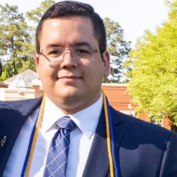Derek Parra graduates.