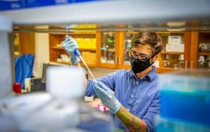 Biology professor lands bioinformatics grant