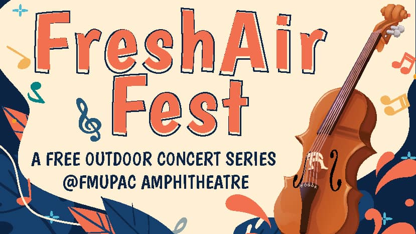 A promotional photo for the Fresh Air Fest.