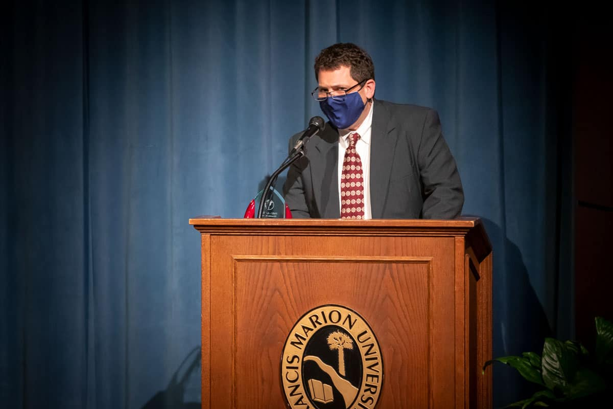 Brauss receives FMU's AAFSC Diversity Award