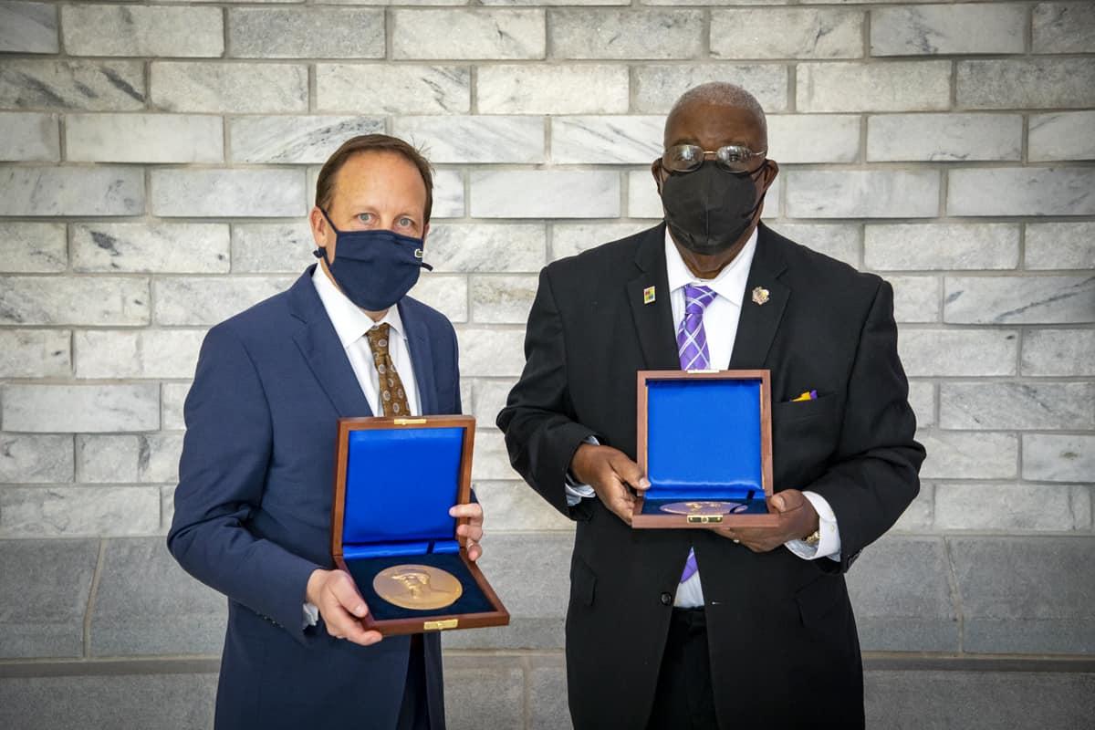 Marion Medallions go to respected educator, regional healthcare nonprofit