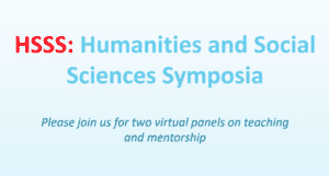 Humanities and Social Sciences Symposia: Pandemic Pedagogies