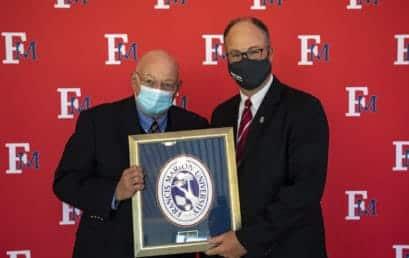 FMU School of Business honors Seward with alumni award