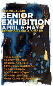 Gallery Series: Senior Shows Spring 2021 @ Adele Kassab Art Gallery, Peter D. Hyman Fine Arts Center | Florence | South Carolina | United States