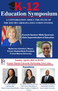 Modern Issues in Education Symposium @ Francis Marion University Performing Arts Center