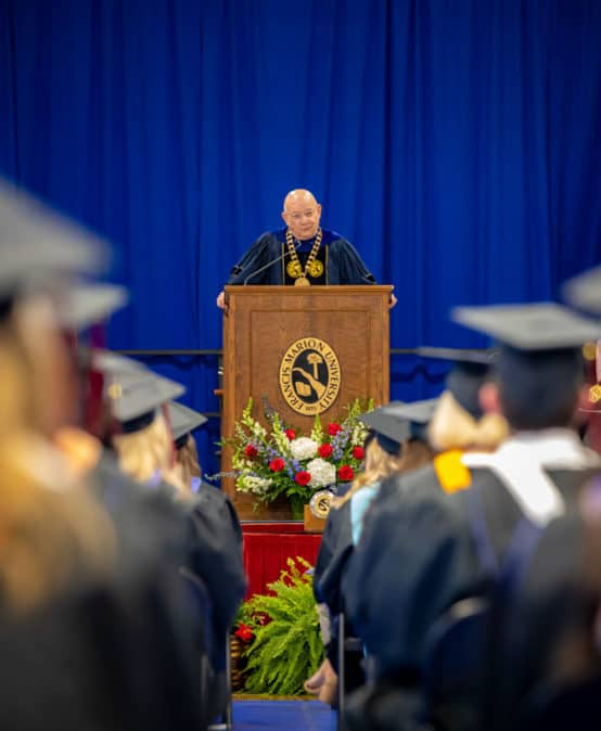 FMU graduates largest class ever at spring '21 commencement