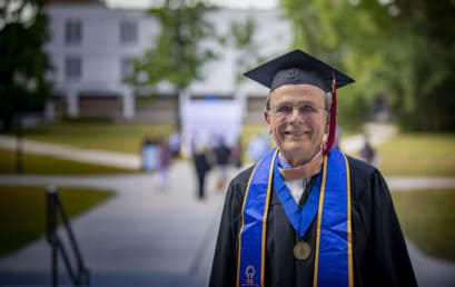 MBA at 83? No problem for retired DuPont engineer