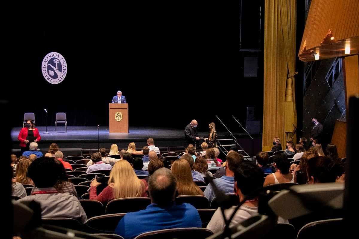 FMU welcomes top incoming freshmen at Scholarship Day