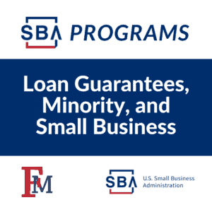 SBA Programs: Loan Guarantees, Minority, and Small Business @ Online Event