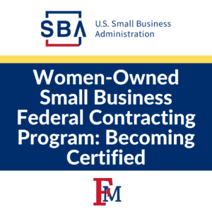 Women-Owned Small Business Federal Contracting Program: Becoming Certified @ Online Event