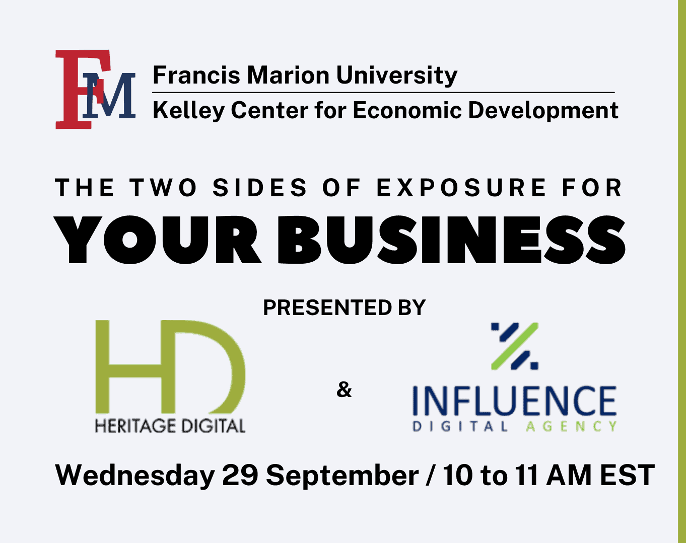 The Two Sides of Exposure for Your Business