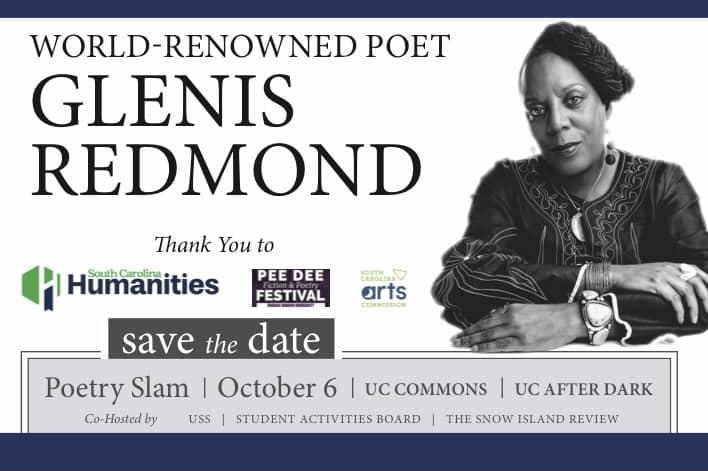 World-Renowned Poet Glenis Redmond